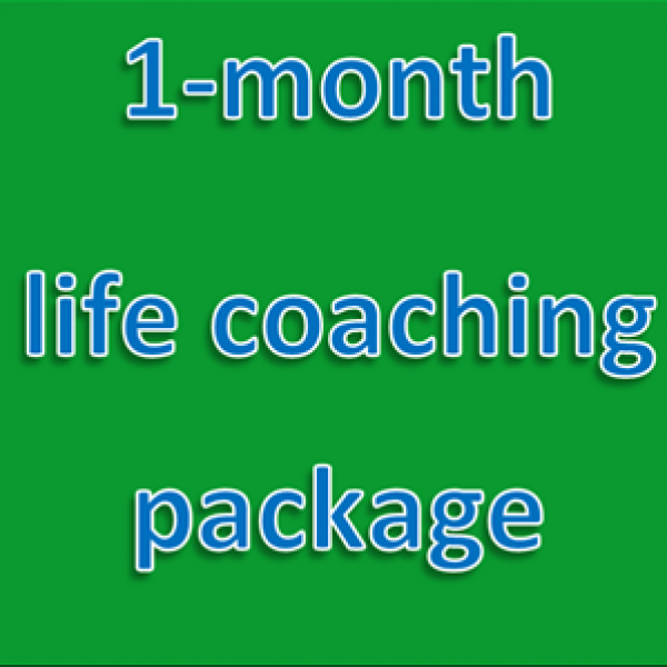 1-month life coaching package