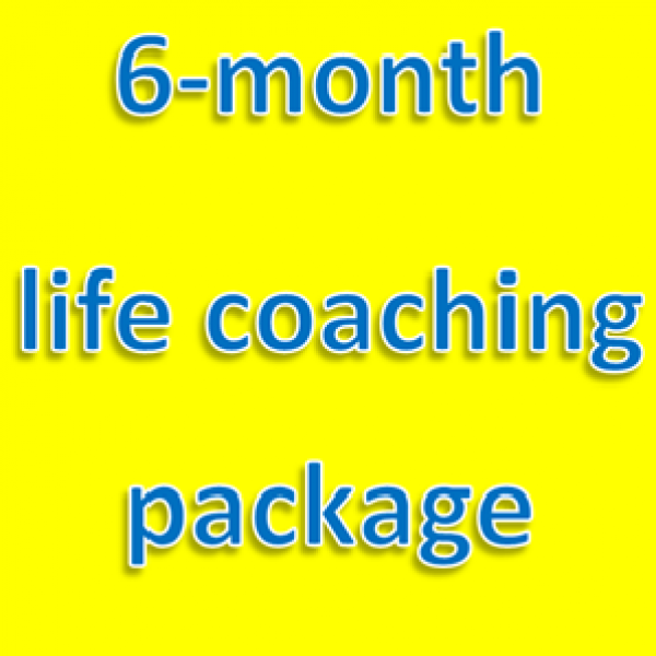 6-month life coaching package